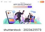 app development web concept for ...