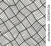 vector seamless pattern.... | Shutterstock .eps vector #202369126