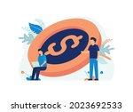 illustration concept of... | Shutterstock .eps vector #2023692533