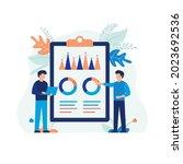 illustration concept of... | Shutterstock .eps vector #2023692536