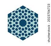 islamic traditional rosette for ... | Shutterstock .eps vector #2023706723