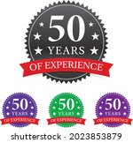 50 years experience various... | Shutterstock .eps vector #2023853879