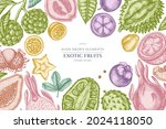 design with pastel colored... | Shutterstock .eps vector #2024118050