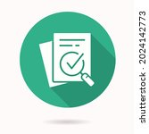 verification icon. simple... | Shutterstock .eps vector #2024142773