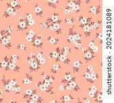 vector seamless pattern. pretty ... | Shutterstock .eps vector #2024181089