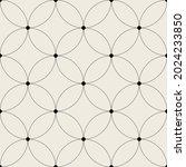 vector seamless pattern. modern ... | Shutterstock .eps vector #2024233850