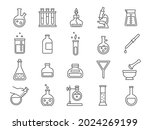 chemistry or science research... | Shutterstock .eps vector #2024269199