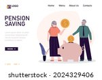 old people throwing gold coins...   Shutterstock .eps vector #2024329406