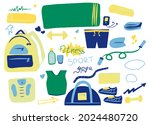 collection of elements for yoga ... | Shutterstock .eps vector #2024480720