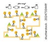 a game for preschool children.... | Shutterstock .eps vector #2024733449