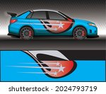 car livery wrap decal  rally... | Shutterstock .eps vector #2024793719