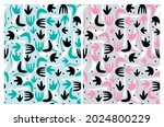 Cute Abstract Geometric Vector...