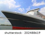 new york   july 1  queen mary 2 ... | Shutterstock . vector #202488619