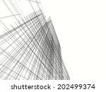 mesh architecture | Shutterstock . vector #202499374
