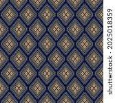 dark blue background geometric ... | Shutterstock .eps vector #2025018359