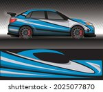car livery wrap decal  rally... | Shutterstock .eps vector #2025077870