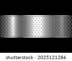 background silver metallic on... | Shutterstock .eps vector #2025121286