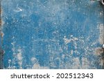 Texture Of Old Blue Metal