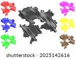 coburg district  federal... | Shutterstock .eps vector #2025142616