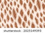 abstract modern leopard... | Shutterstock .eps vector #2025149393