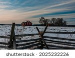 Photo Of A Winter Sunset At The ...