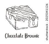 Vector Of Chocolate Brownie...
