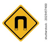 the sign indicates that there... | Shutterstock .eps vector #2025457400