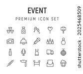 premium pack of event line...