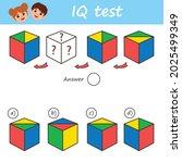educational game for kids for...   Shutterstock .eps vector #2025499349
