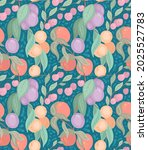 seamless flat delicate texture...   Shutterstock .eps vector #2025527783