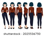 cartoon character with business ...   Shutterstock .eps vector #2025536750