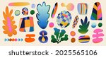 abstract hand drawn doodle... | Shutterstock .eps vector #2025565106