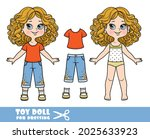cartoon girl with bob hairstyle ... | Shutterstock .eps vector #2025633923
