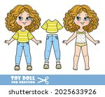 cartoon girl with bob hairstyle ... | Shutterstock .eps vector #2025633926