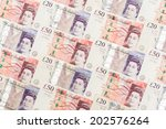 Banknote 20 And 50 Pound Arra...