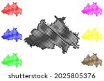 eichstatt district  federal... | Shutterstock .eps vector #2025805376