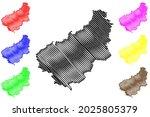 eichsfeld district  federal... | Shutterstock .eps vector #2025805379