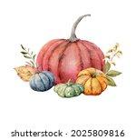 a watercolor postcard for... | Shutterstock . vector #2025809816