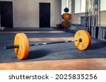 Barbell On The Floor....