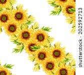abstract elegance seamless... | Shutterstock . vector #202592713