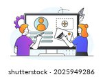 ui ux development concept....   Shutterstock .eps vector #2025949286
