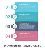 infographic template with 4...   Shutterstock .eps vector #2026072160