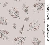 beautiful endless gentle floral ...   Shutterstock .eps vector #2026173503