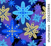 vector seamless pattern... | Shutterstock .eps vector #2026220846