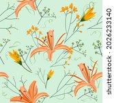 beautiful gentle summer classic ...   Shutterstock .eps vector #2026233140