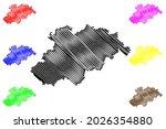 erzgebirgskreis district ... | Shutterstock .eps vector #2026354880
