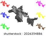 erlangen hochstadt district ... | Shutterstock .eps vector #2026354886