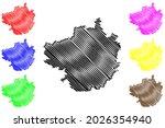 forchheim district  federal... | Shutterstock .eps vector #2026354940
