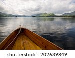 rowing boats in lake district...