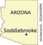 saddlebrooke census designated... | Shutterstock .eps vector #2026434896